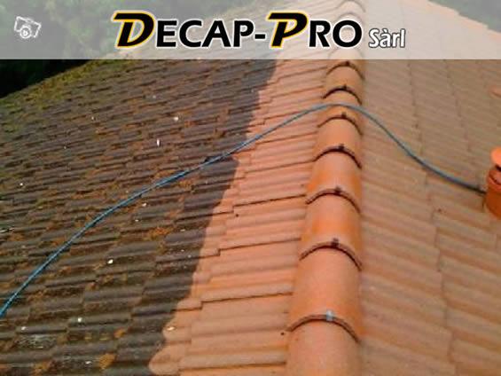 Traitement de toiture, démoussage et entretien des toits